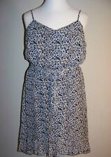 RELATIVITY Plus Size 2X Leopard Print Chiffon Slip Dress *NWT $92