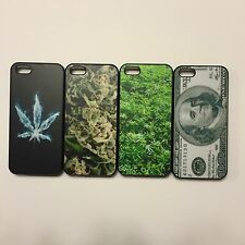 Marijuana Kush Weed Loud iPhone 5/5s Thin Hard Plastic Snap on Bumper Cases