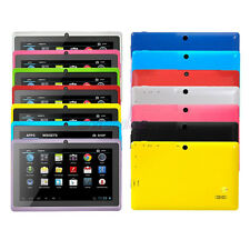 "7"" Google Android 4.2 Tablet PC w/ Dual Core 8GB Cameras WiFi Multi-Touch Colors"