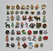 Holiday Floating Charms -CHRISTMAS & WINTER - for living memory lockets (C)