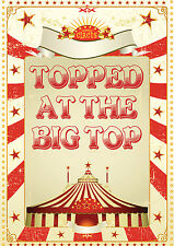 Topped in the Big Top! - 6, 8, 10, 12  player games