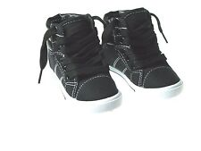 New Stylish LaceUp Hi Top Canvas Toddler Baby Boys or Girls Shoes Sz 4-9
