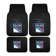 New NHL New York Rangers Car Truck Front Rear Heavy duty All Weather Floor Mats