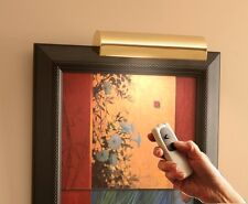 """battery operated picture light cordless led remote controlled dimmable 8"""""""