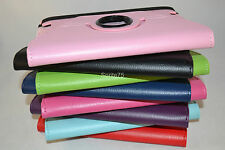 """Amazon 2012 Kindle Fire HD 7"""" or 8.9"""" model X43Z60 Rotating Leather Case Cover"""