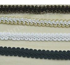 20 yards French Gimp Braid Trim Ribbon Scrapbooking Wedding Decoration 4 Colors