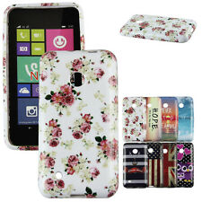 Vogue Floral Patterned Soft TPU Back Case Skin Cover For Nokia Lumia N530