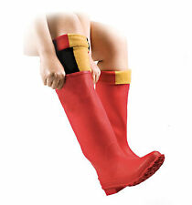 HORSEWARE CHILDRENS & ADULTS WELLIE COSIES FOR WELLY BOOTS - WITNEY GOLD