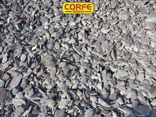 PLUM SLATE CHIPPINGS 40mm BULK BAG AGGREGATE FOR GARDENS