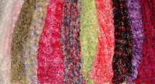 Fluffy Magic Scarf Crochet in Various Colors