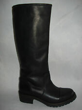 STIVALE DONNA 36-37-38-39-40-41 NERO 100% PELLE MADE ITALY FOD.PELLE-IGIA-BOOTS
