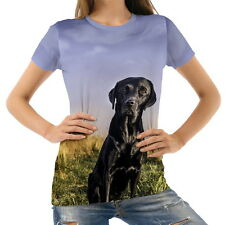 Labrador Dog Friend View Women's Clothing T-Shirts S M L XL 2XL