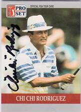 PGA Golf Autographs 1990 Pro Set Card*Select Your Player Use Menu*Free Shipping