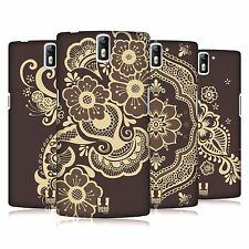 HEAD CASE DESIGNS HENNA HARD BACK CASE FOR ONEPLUS ONE