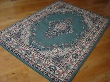 Traditional 112G Green Budget KESHAN  Rug in various sizes and runner
