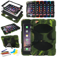 Hard Case Cover iPad mini Military Duty Stand Shockproof Waterproof Dust PROOF