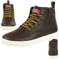 Dickies IRON Men's Boots Leather Boots brown Worker Boot Workwear