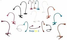 IKEA JANSJO LED USB LAMP ,WORK LAMP & CLAMP SPOTlIGHT IN A VARIETY OF COLOURS ~