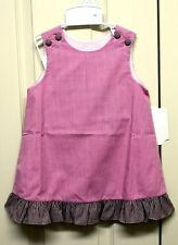 Girls Pink/White/Brown Dress- 12mth, 18mth, 24mth Remember Nguyen