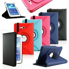 "Folio PU Leather Case Stand Cover For Samsung Galaxy Tab 3 Lite 7.0 7"" SM-T110"