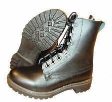 Black Leather ASSAULT BOOTS - British Army - Size UK 9, 10, 11 - Grade 1
