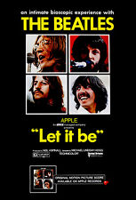 The Beatles - Let It Be - 1970 - Movie Poster