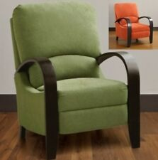 Green or Orange Reclining Chairs Recliners Recliner Armchair Armchairs Arm Chair