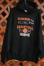 Bleachers & Bling Basketball Thing rhinestone hoodie  S M L XL 2X 3X 4X 5X