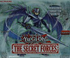 YuGiOh The Secret Forces THSF Super Rare 1st Edition Choose from list