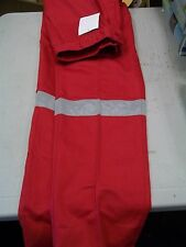 NEW WENAAS RED PANTS W/ REFLECTOR STRIPE  (VARIOUS SIZES AVAILABLE )