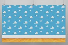 Toy Story Birthday Party Decoration Kids Photo Booth Vinyl Banner Backdrop