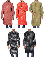 Ethnic Kurta Cotton Casual Shirt  Mens Long Khadi Kurtas Shirts 10Pcs Lots GOSF