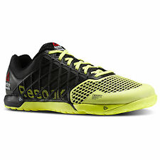 Reebok CrossFit Nano 4.0 Trainers Black/Yellow High Vis M40521 BRAND NEW