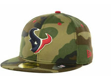 Official Houston Texans New Era NFL Camo Pop 59FIFTY Fitted Hat