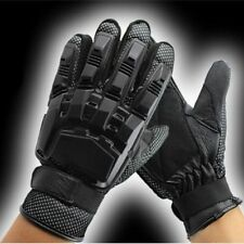New Armored Paint Ball Air Soft Full Finger Tactical Sports Gloves