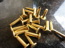 Cutler Rivets Brass USA made quality for attaching knife scales & tool handles