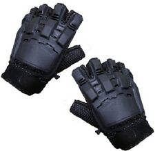 New Air Soft / Paintball / Tactical Half Finger Gloves On Special Offer UK Stock