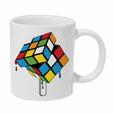 Melted Rubiks Cube Ceramic Mug The Big Bang Theory Sheldon cacao cup