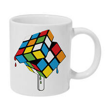 Rubiks Cube Melting Lollipop Ceramic Mug The Big Bang theory Sheldon cocoa cup