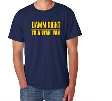 Utah Damn Right Show Your City Pride Utah Funny Shirt