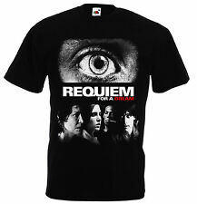 Requiem for a Dream Jared Leto Jennifer Connelly movie t shirt sex shows drugs