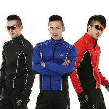 Outdoor Sport Bike Bicyle Long Sleeve Winter Cycling Wind Jersey Jacket Clothing