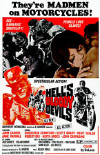 Hell's Bloody Devils - 1970 - Movie Poster