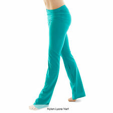 Ladies Nylon Lycra Dance Gear Jazz Pants