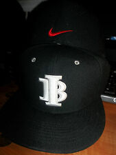 Indiana Bulls Nike Custom Fitted Flat Bill Brim Hat Cap IB Travel Baseball Team