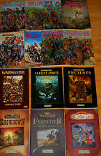 Warhammer Historical Ancient Battles WAB Warmaster *Select 1 Book Games Workshop