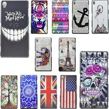 Protective Plastic Skins Hard Phone Back Shield Case Covers For Sony Xperia Z3
