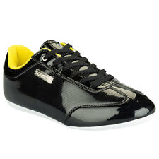 Sonneti Mens Trainers, Sonneti Mens Driver Sports Shoes Black Yellow - GENUINE