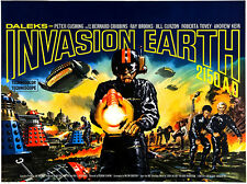Daleks - Invasion Earth 2150 AD - 1966 - Movie Poster
