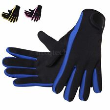 1 Pair 1.5mm Neoprene Scuba Diving Surfing Snorkeling Spear Fishing Water Gloves
